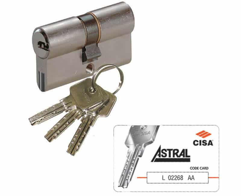 Euro Profile Lock Keys Master Key Systems Astral