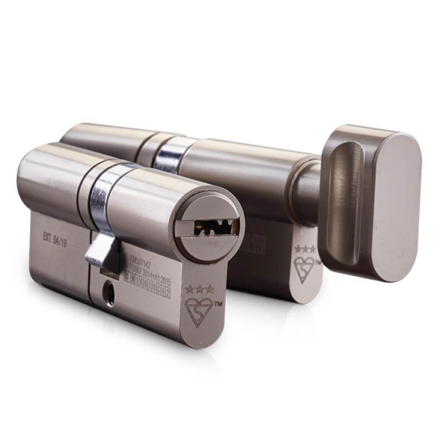 Euro Cylinder TS007 Master Key Systems