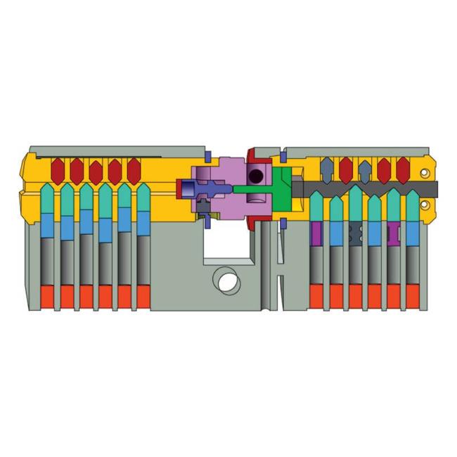 Euro Cylinder Internal Locking System